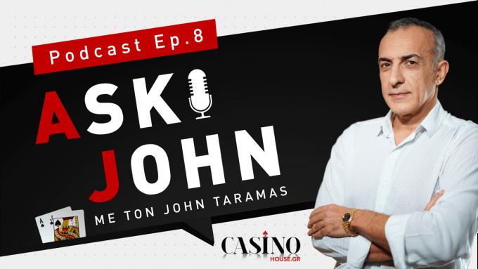 Τζον Τάραμας: Γίνε ο… Τσιτσιπάς του Πόκερ (ep.8)