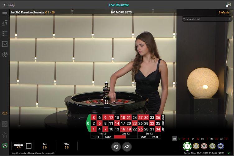 bet365 live casino premium roulette
