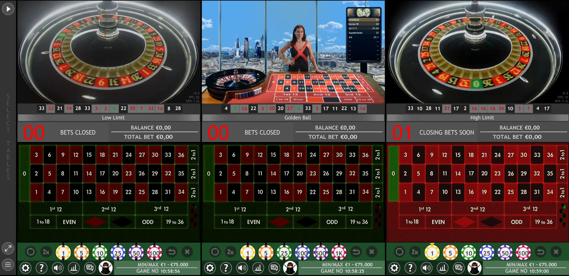 championsbet live casino multitable