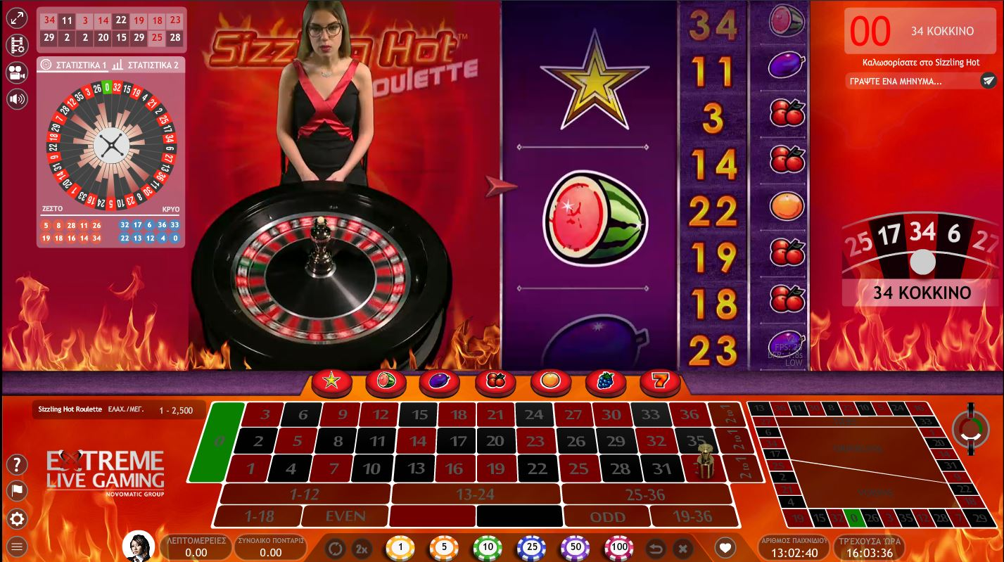 goalbet live casino sizzling hot roulette