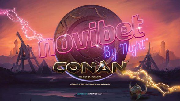 Novibet Καζίνο by Night* και νέα παιχνίδια