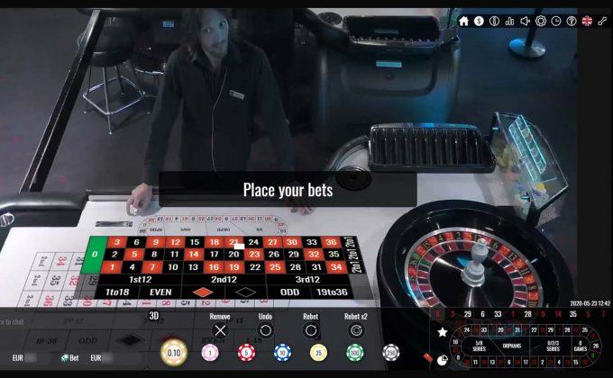 pamestoixima live casino portomaso roulette