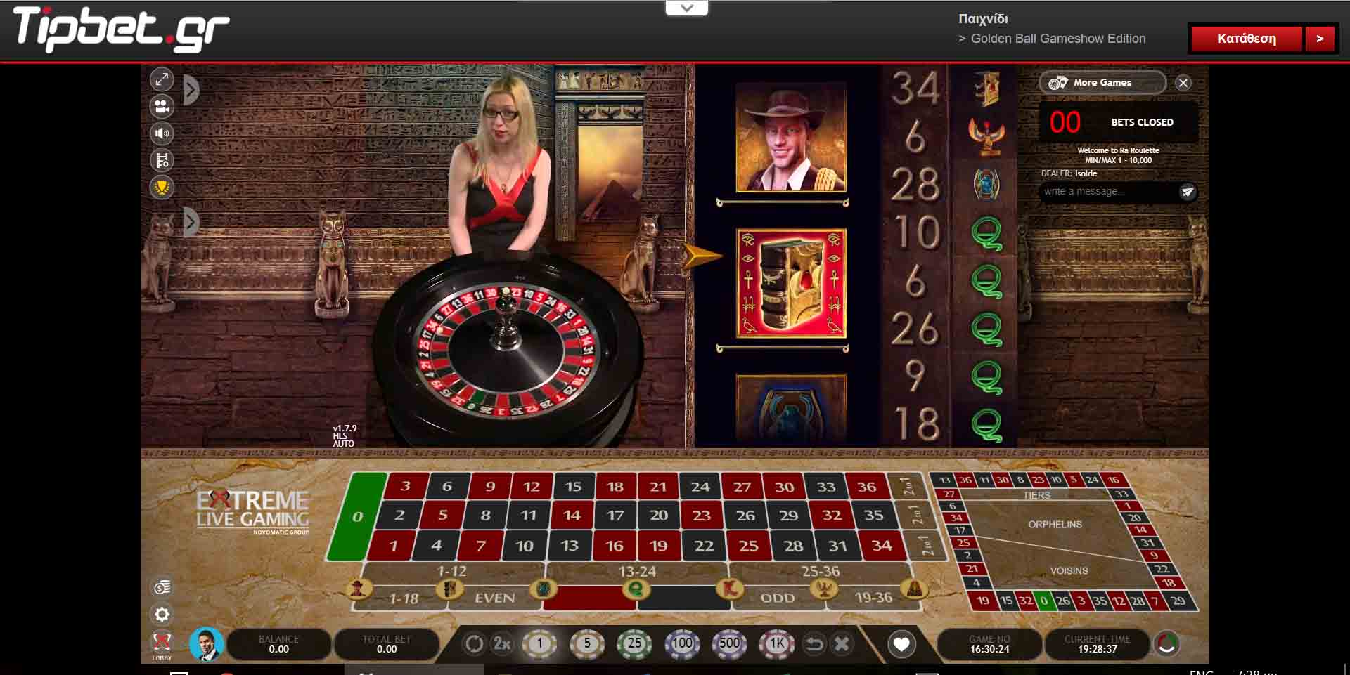 tipbet live casino extreme live gaming ra roulette
